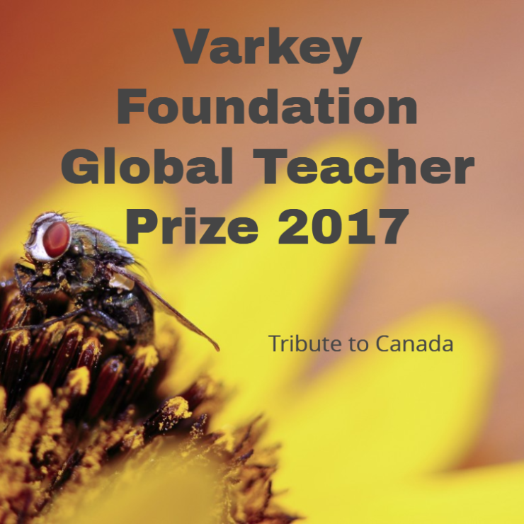 varkey teacher prize 2017 canada